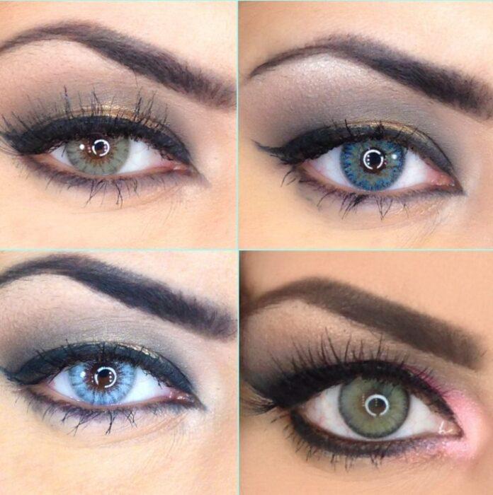 kahverengi göze hangi renk lens yakışır