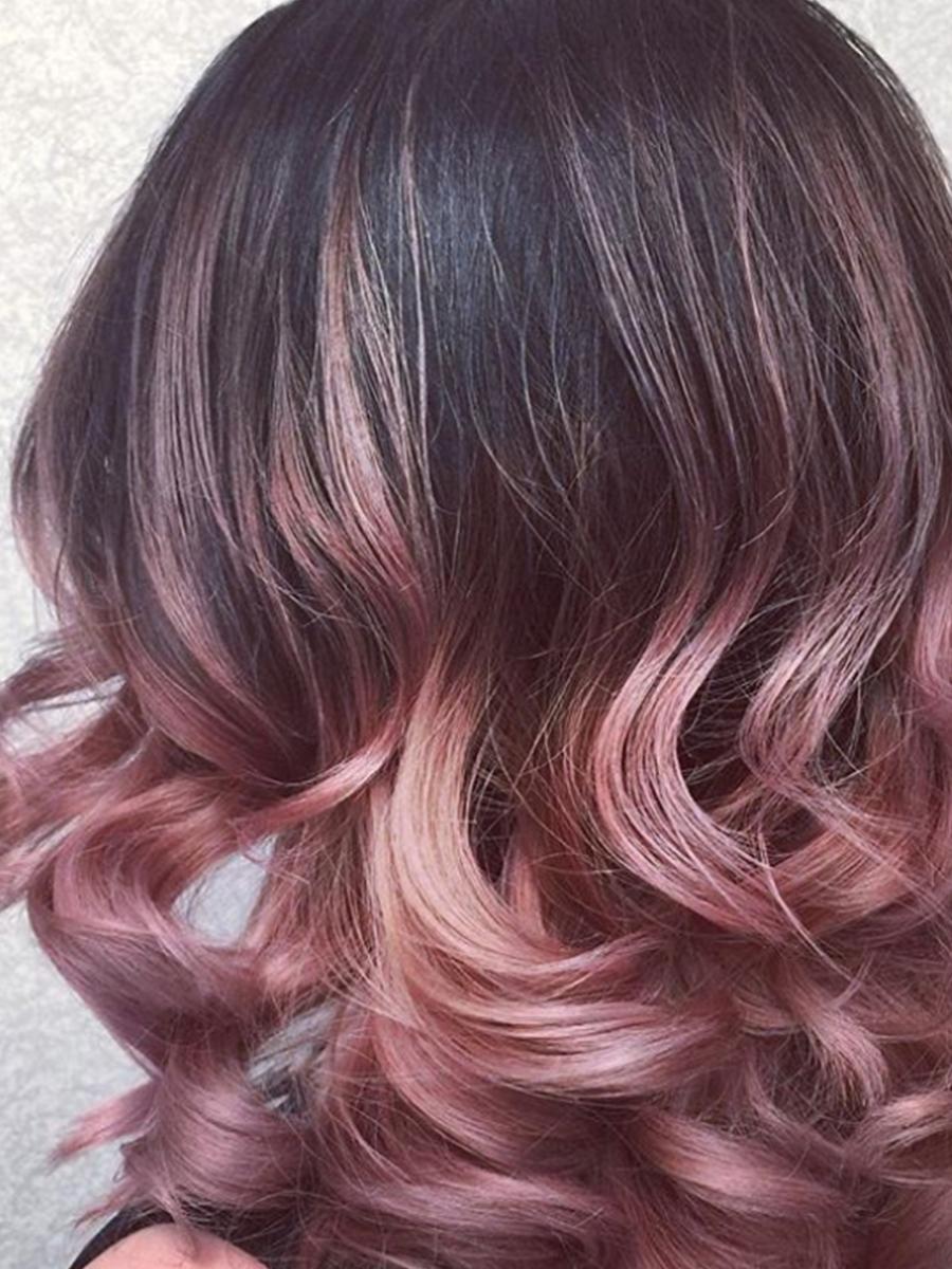 Saç Aralarına renk atma