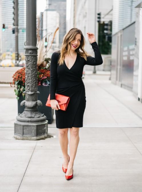 Siyah elbise altına ayakkabı modelleri