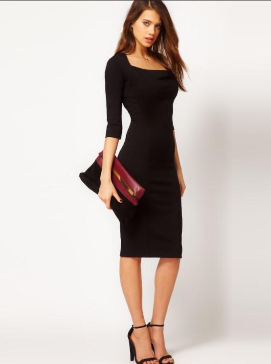 siyah elbiseye uygun ayakkabı
