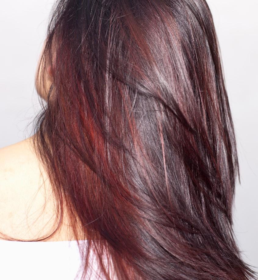 saç boyası karışımları resimli